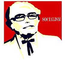 Colonel Sanders - Bernie Sanders Photographic Print