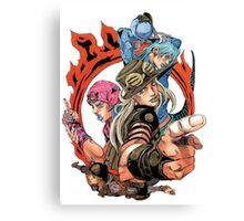 Jojo's bizarre adventure Canvas Print