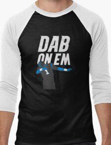 Cam Newton 'Dab On Em' Carolina Panthers Men's Baseball ¾ T-Shirt