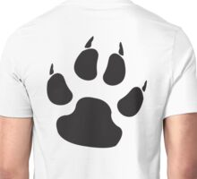 DOG, CAT, PAW, PADS, CLAWS, feline, Cats Paw, Catspaw, Dog Paw, Dog, Pet, foot, track, scratch, BLACK Unisex T-Shirt