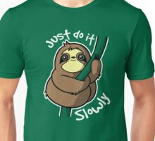 Slow sloth Unisex T-Shirt