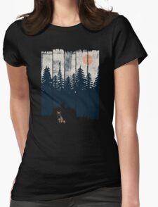 A Fox in the Wild... Womens Fitted T-Shirt
