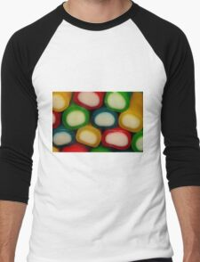 Colourful Liquorice Men's Baseball ¾ T-Shirt