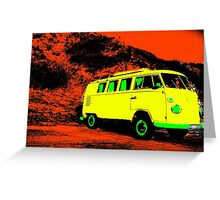V Dub POP Greeting Card