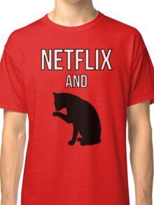 Netflix and Cats Classic T-Shirt