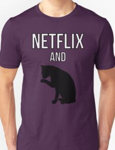 Netflix and Cats Unisex T-Shirt