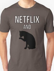 Netflix and Cats T-Shirt