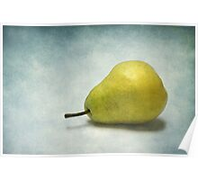 Plump Pear Poster