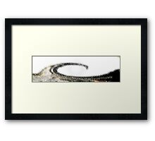 AB40 Abstract Framed Print