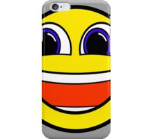 Happy Smile Smiley Face Be Happy Hipster Geek Funny Sticker iPhone Case/Skin