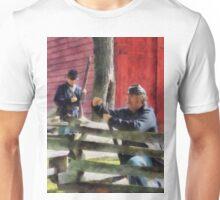 Union Soldier Loading Rifle Unisex T-Shirt