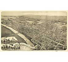 Wilkes-Barre, Pennsylvania (1889) Photographic Print