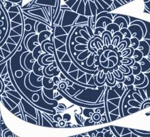 Penn State Nittany Lion Paisley Sticker