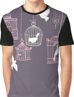 Bird Cage #3  Graphic T-Shirt