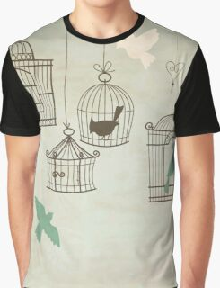 Bird Cage #4  Graphic T-Shirt