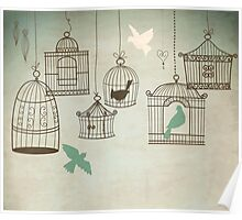 Bird Cage #4  Poster