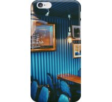 Blue Cafe in Reykjavik, Iceland  iPhone Case/Skin
