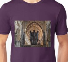 Impressive Cathedral Organ Pipes...Exeter UK Unisex T-Shirt