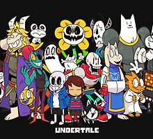 CHEAP UNDERTALE ALL CHARACTERS by theCHEAPone