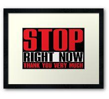 Spice Girls - Stop Framed Print
