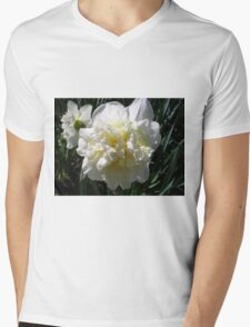 Spring Bloom Mens V-Neck T-Shirt