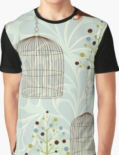 Bird Cage #6  Graphic T-Shirt
