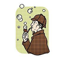 Bubbles, dear Watson Photographic Print
