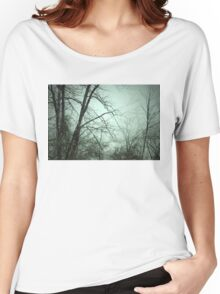 Woods Snowing Women's Relaxed Fit T-Shirt