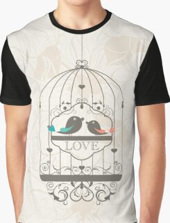 Bird Cage #7  Graphic T-Shirt