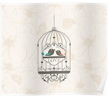 Bird Cage #7  Poster