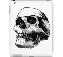 Skull Bandana  iPad Case/Skin