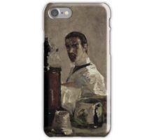 Henri de Toulouse-Lautrec,  SELF PORTRAIT iPhone Case/Skin