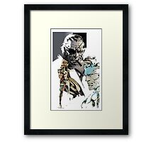 Metal Gear family reunion Framed Print