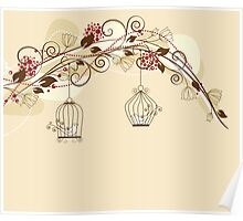 Bird Cage #9  Poster
