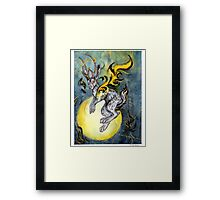 the Jackalope Framed Print
