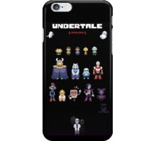 CHEAP UNDERTALE all characters iPhone Case/Skin