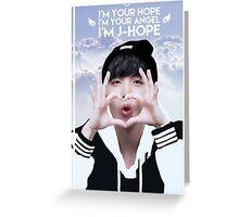 Angel J-HOPE Greeting Card