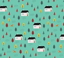Countryside Pattern by KarinBijlsma