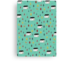 Countryside Pattern Canvas Print