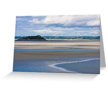 Areal view from Le Mont Saint-Michel Greeting Card