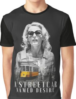Gillian Anderson - A Streetcar Named Desire Graphic T-Shirt