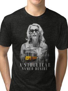 Gillian Anderson - A Streetcar Named Desire Tri-blend T-Shirt