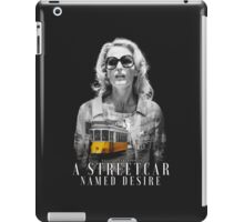 Gillian Anderson - A Streetcar Named Desire iPad Case/Skin