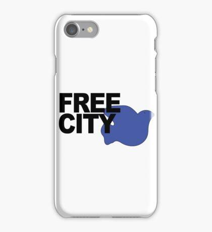 Free City Blue Dove iPhone Case/Skin