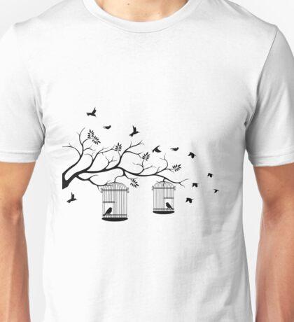 Bird Cage #12  Unisex T-Shirt