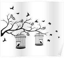 Bird Cage #12  Poster