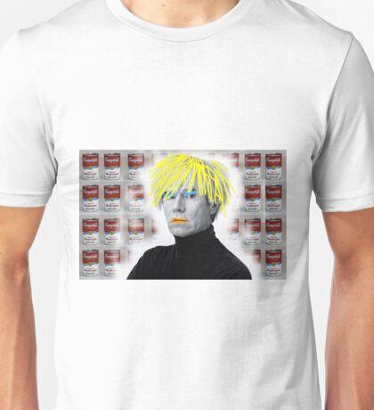 Warhol On Warhol Stolen From Warhol Unisex T-Shirt