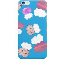 TFIOS Okay Clouds Mixed Background iPhone Case/Skin