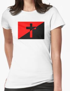 Christian Socialism Womens Fitted T-Shirt