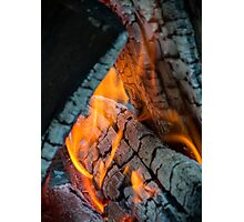 Camp Fire  Photographic Print